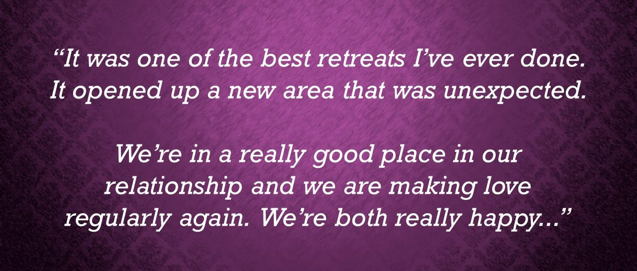 Rotating quote - The Making Love Retreat for Couples